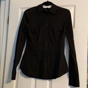 Victoria's Secret black button down